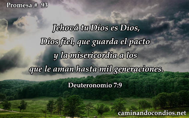 Deuteronomio 7:9