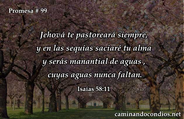 Isaias 58:11