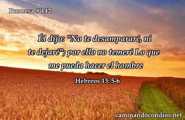 hebreos 13:5-6