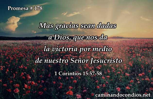 1 Corintios 15:57-58