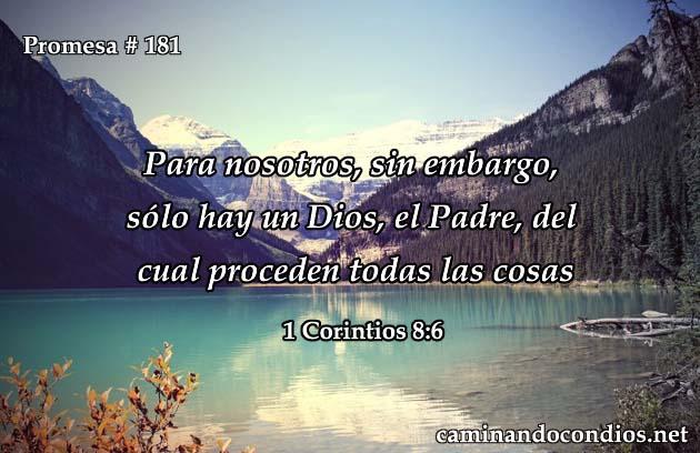 1 corintios 8:6