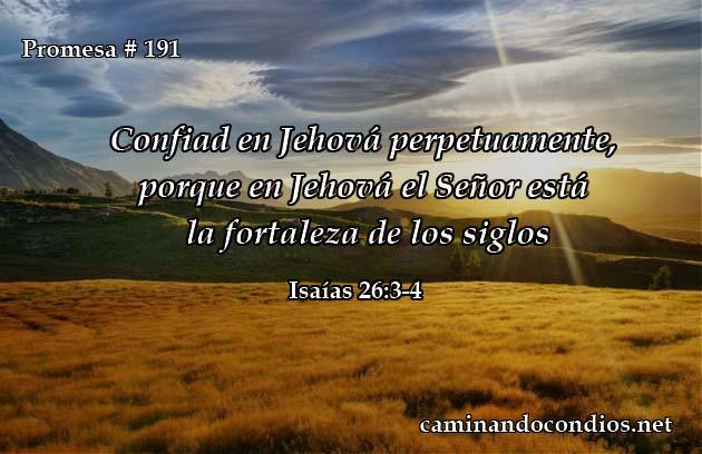 Isaías 26:3-4