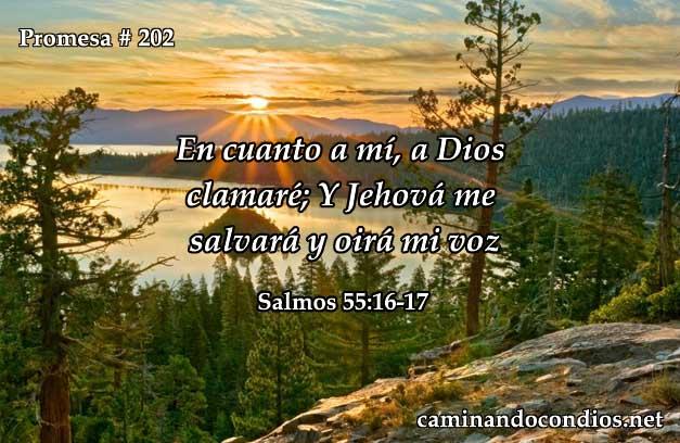 Salmos 55:16-17