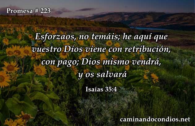 Isaías 35:4
