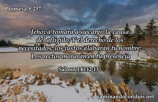 Salmos 140:12-13