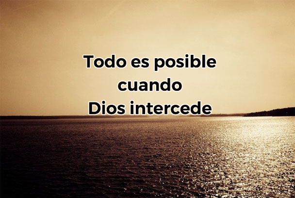 Dios Intercede