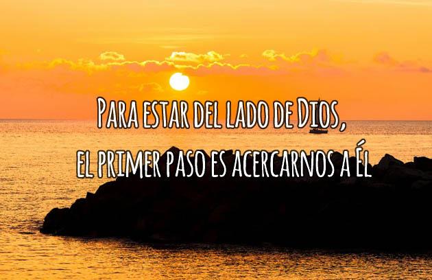 Acercarnos a Dios