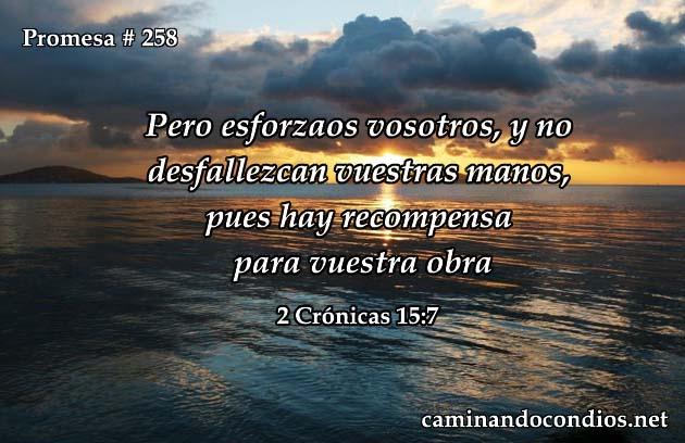 2 Crónicas 15:7
