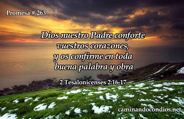 2 Tesalonicenses 2: 16-17