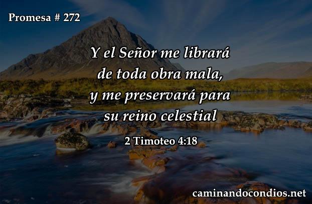 2 Timoteo 4:18