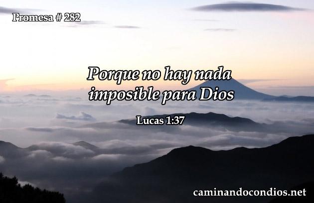 Lucas 1:37