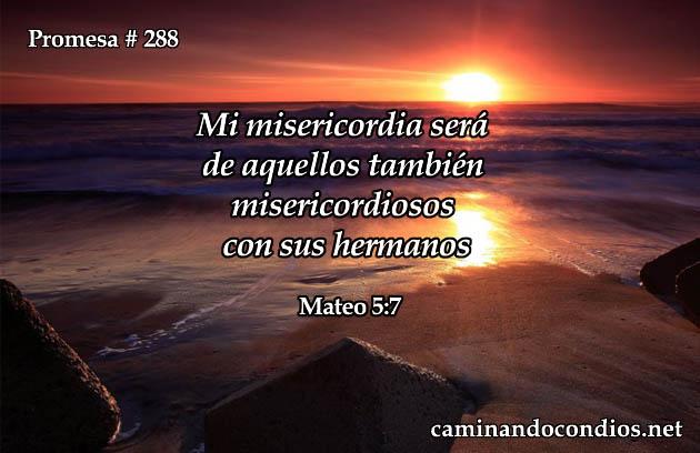 Mateo 5:7
