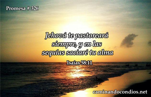 Isaías 58:11