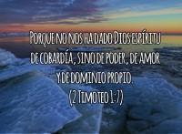 No Hay Temor Junto a Dios