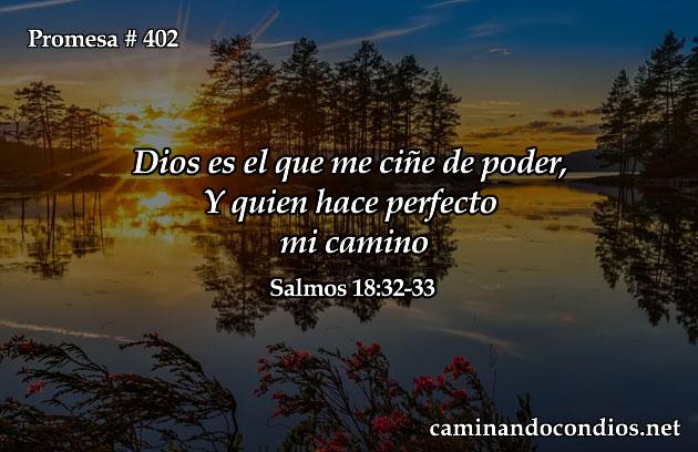 Dios hace perfecto mi camino