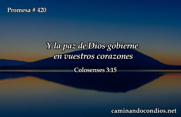 Que Reine La Paz de Dios