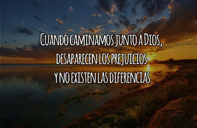 No existen diferencias junto a Dios