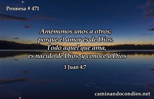 1 Juan 4:7