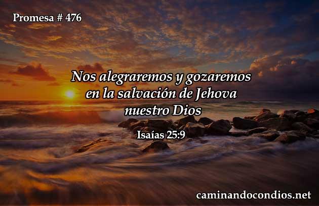 Alegres en Su Salvación