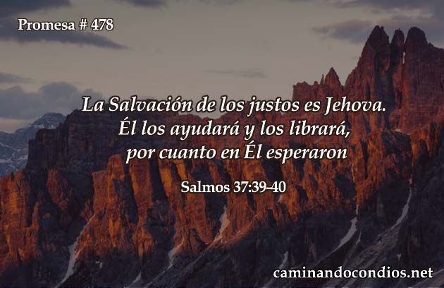 Salvación y Justicia