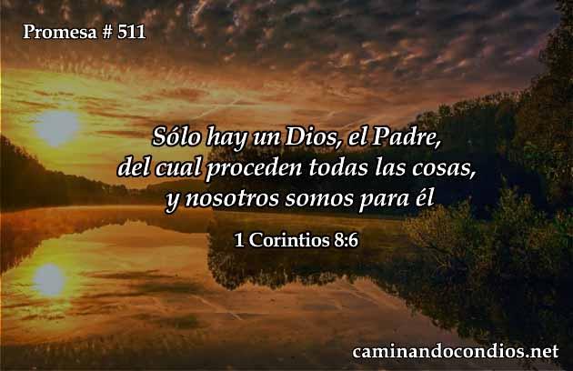 Somos por medio de Dios