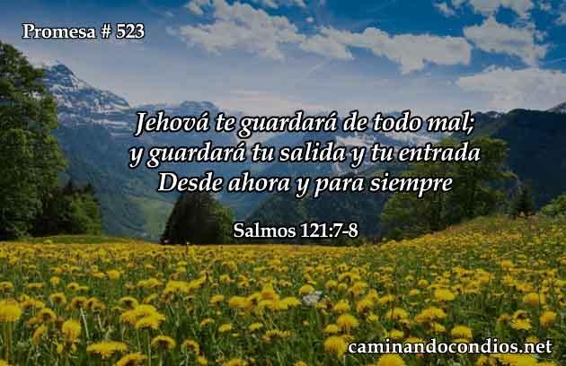 Dios nos guardará siempre