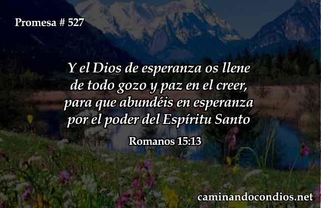 Dios nos llene de esperanza