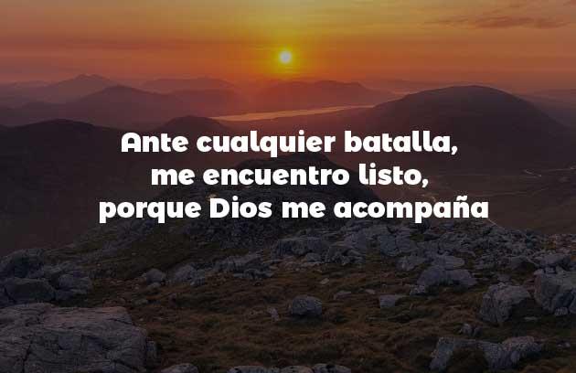Dios me acompaña