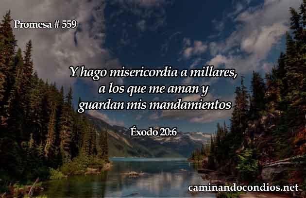 Éxodo 20:6