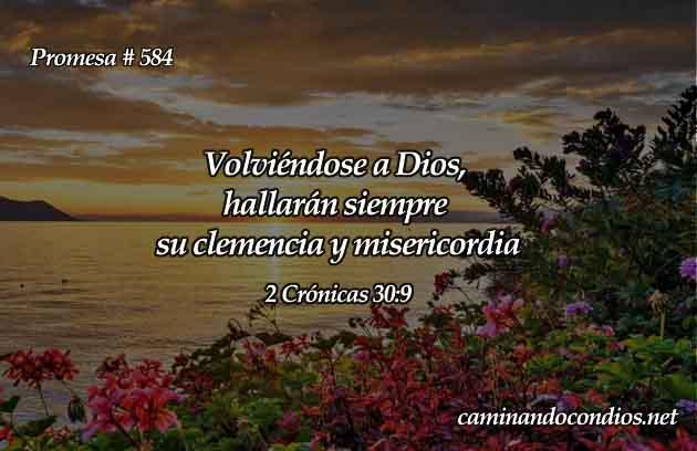 2 Crónicas 30:9