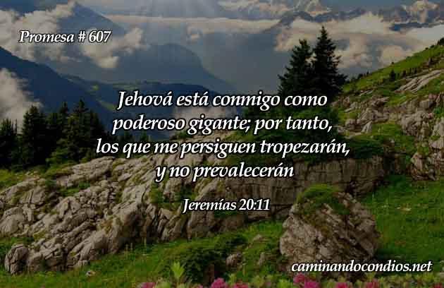 Jeremías 20:11