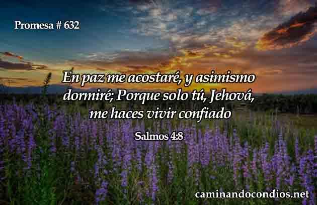 Versículos de paz de Dios