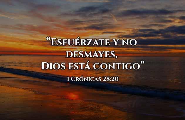 versículos de fuerza de Dios