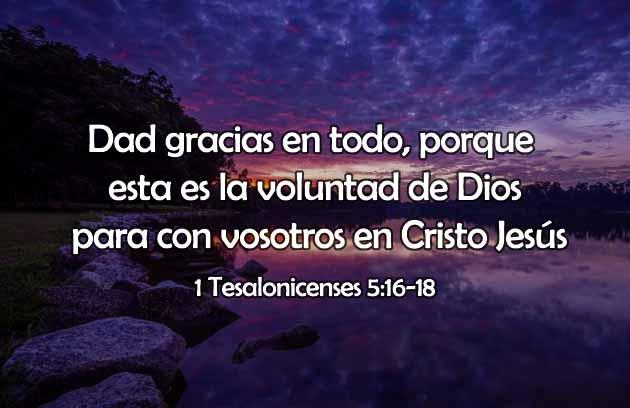 Frases de Dios sobre agradecimiento