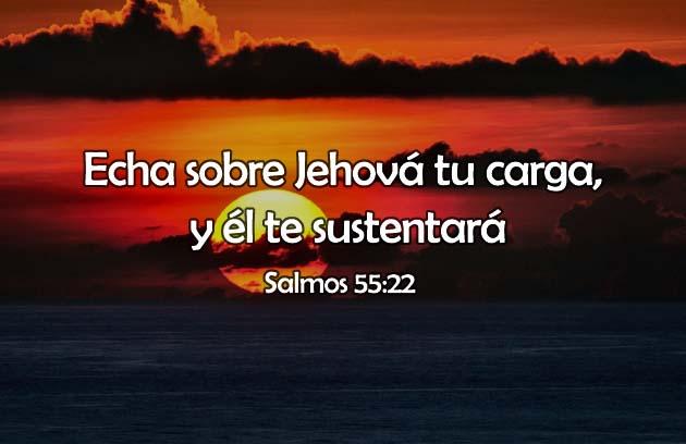 Frases de Dios, sustenta en mis cargas