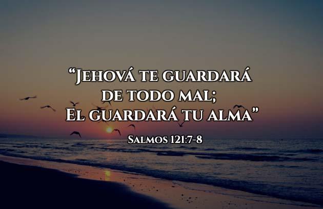 versículo del día me guardará