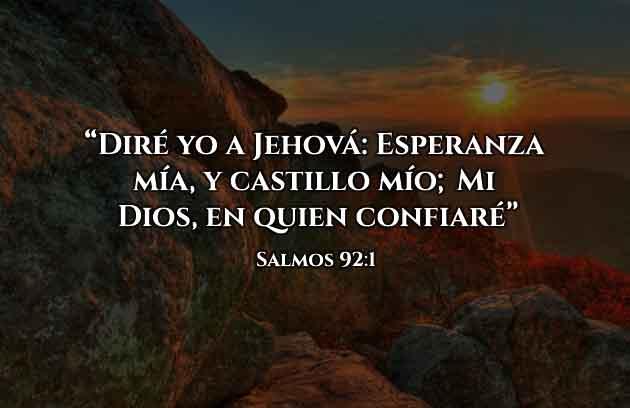 Frases Cristianas Castillo es Dios