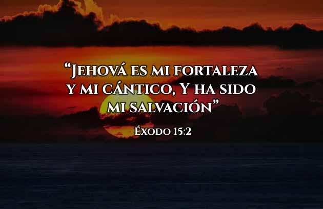 Frases Cristianas Mi Fortaleza es Jehová