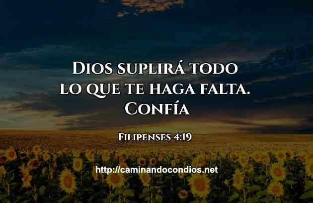 Frases Cristianas Dios Te Suplirá