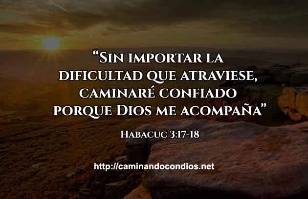 Versículo del Día Camino Confiado