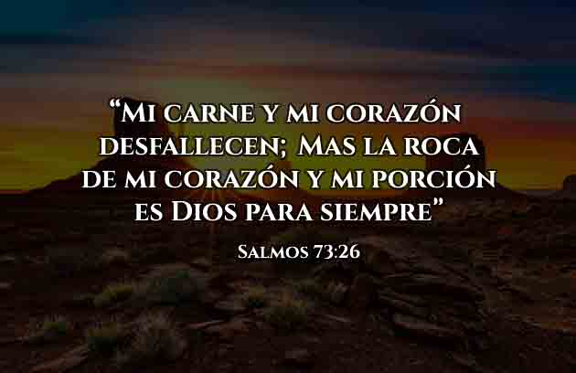 Versiculo Diario Salmos 73 -26