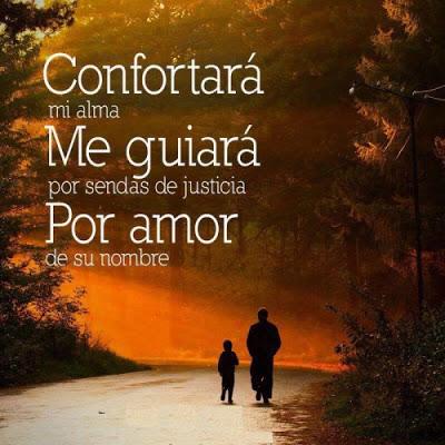 confortara mi alma
