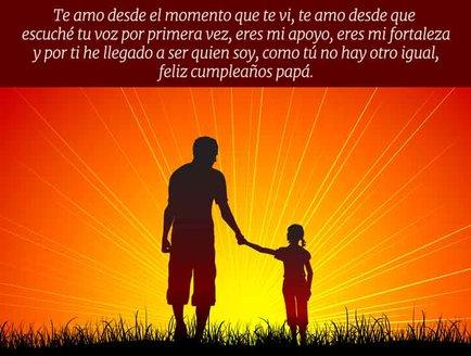 Felicitaciones para Cumpleaños Padre
