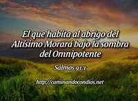 Sombra del Omnipotente Salmo 91