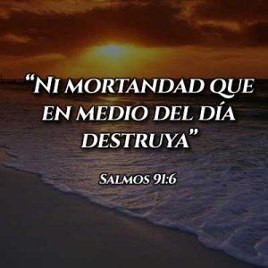 Versículo del Salmo 91:6