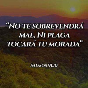 Versículo del Salmo 91:10