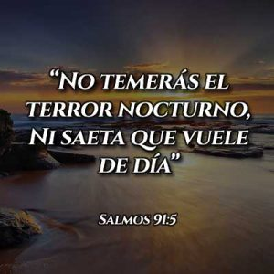 Versículo del Salmo 91:5