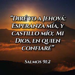 Versículo del salmo 91 2