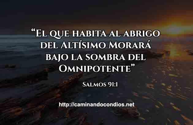 Salmos 91:1 Al Abrigo del Altísimo