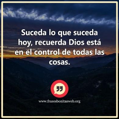 No te angusties deja tus cargas de la vida a Dios